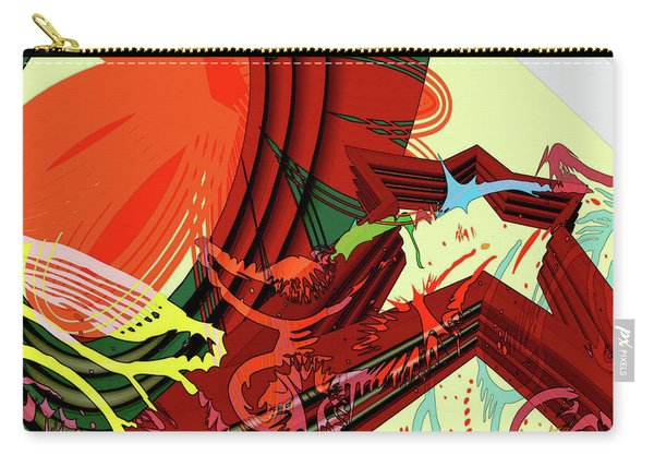 Abstract Rhetoric Carry-all Pouch