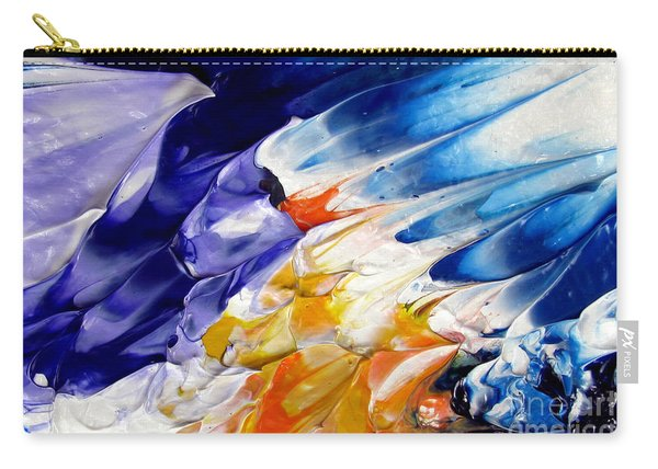 Abstract Series 0615a-4-l1 Carry-all Pouch