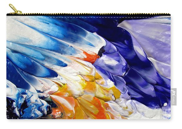 Abstract Series 0615a-4-l2 Carry-all Pouch