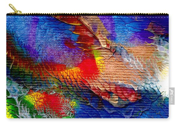 Abstract Series 0615a-5 Carry-all Pouch