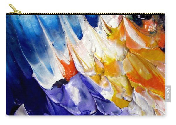 Abstract Series 0615a-6p2 Carry-all Pouch