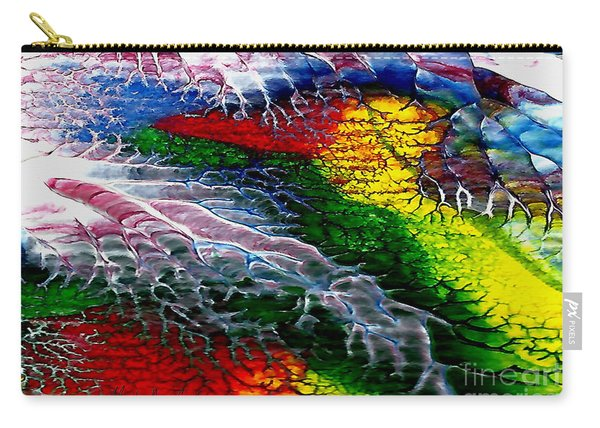 Abstract Series 0615a Carry-all Pouch