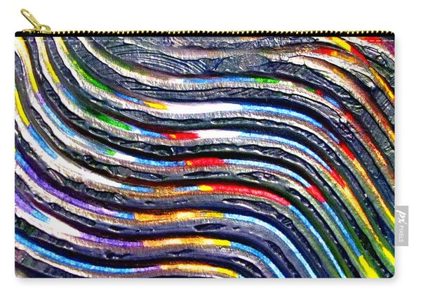 Abstract Series 0615b1 Carry-all Pouch
