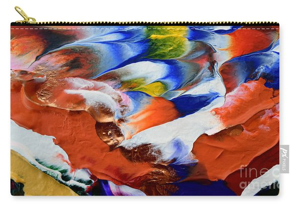 Abstract Series N1015al  Carry-all Pouch