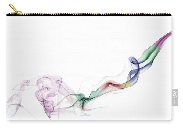 Abstract Smoke Carry-all Pouch