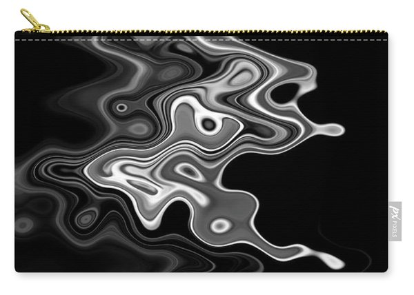 Abstract Swirl Monochrome Carry-all Pouch
