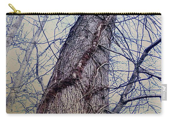 Abstract Tree Trunk Carry-all Pouch