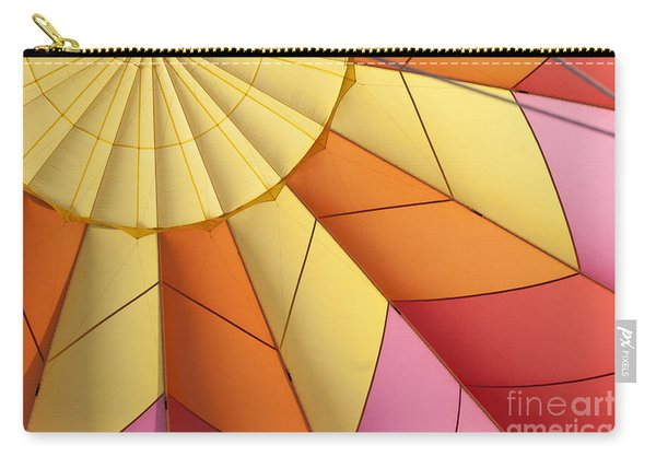 Abstract View Of Hot Air Balloon Carry-all Pouch