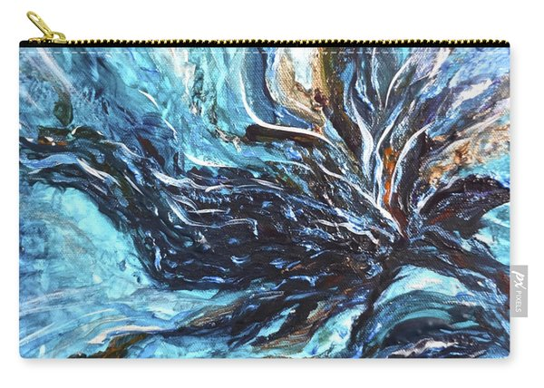 Abstract Water Dragon Carry-all Pouch