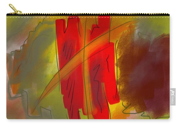 Abstraction Collect 3 Carry-all Pouch