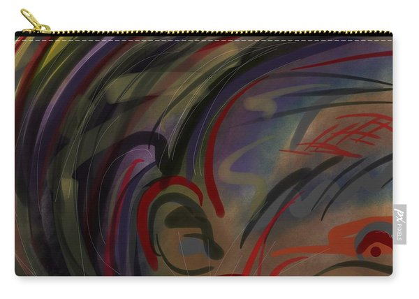 Fro Abstraction 2 Carry-all Pouch