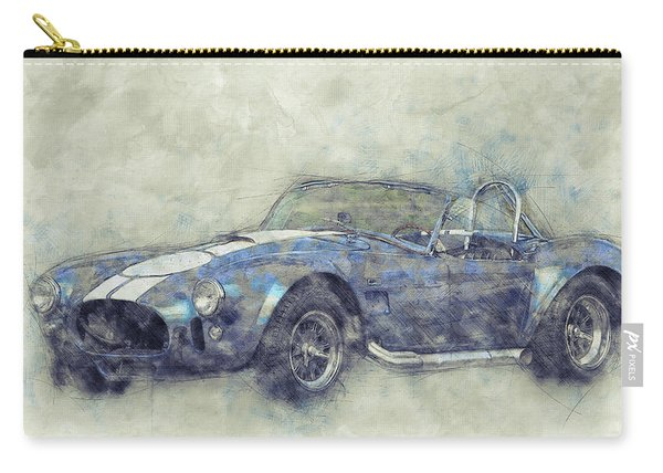 Ac Cobra - Shelby Cobra - 1962s - Automotive Art - Car Posters Carry-all Pouch