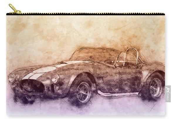 Ac Cobra - Shelby Cobra 2 - 1962s - Automotive Art - Car Posters Carry-all Pouch