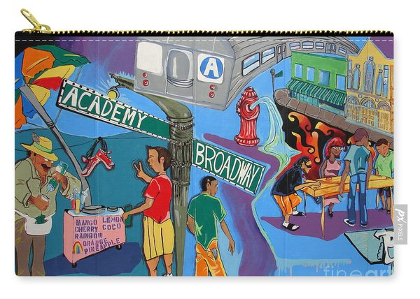 Academy And Broadway Carry-all Pouch