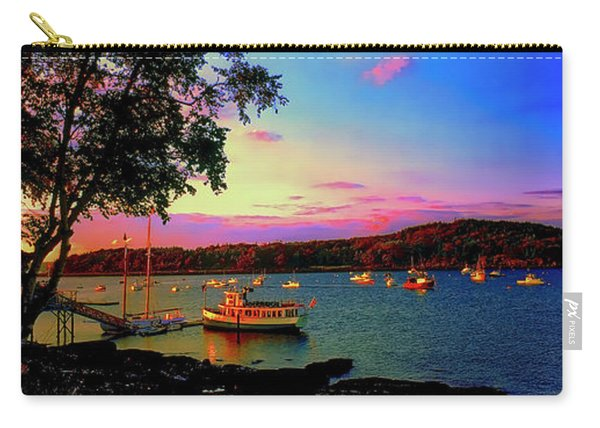 Acadia Bar Harbor Sunset Cruises.tif Carry-all Pouch