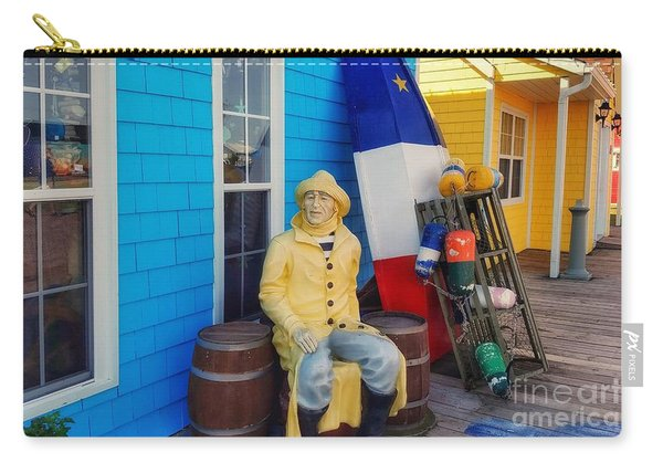 Acadian Fisherman, Prince Edward Island, Canada Carry-all Pouch