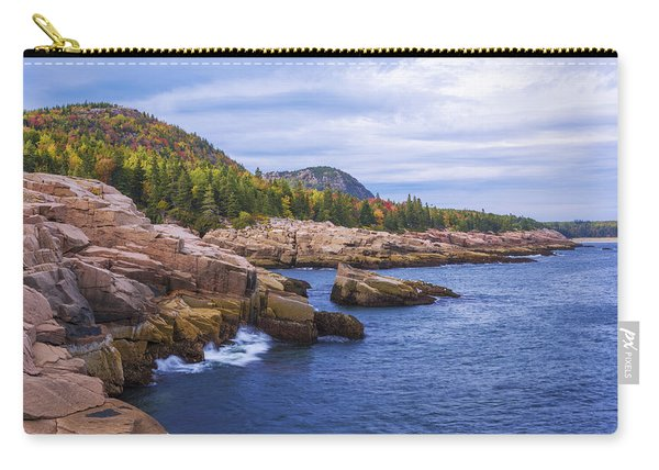Acadia's Coast Carry-all Pouch