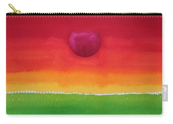 Acceptance Original Painting Carry-all Pouch