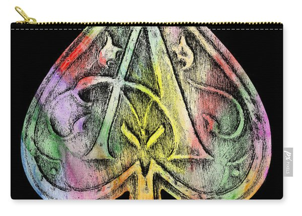 Ace Of Spades Champagne Carry-all Pouch