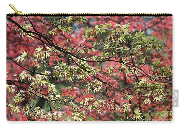 Acer Leaves In Spring Carry-all Pouch