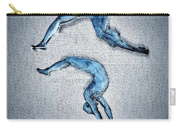 Acrobatic Gesture Carry-all Pouch