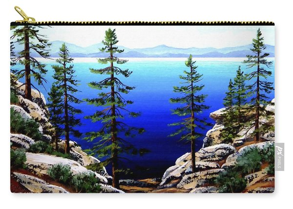 Across Lake Tahoe Carry-all Pouch
