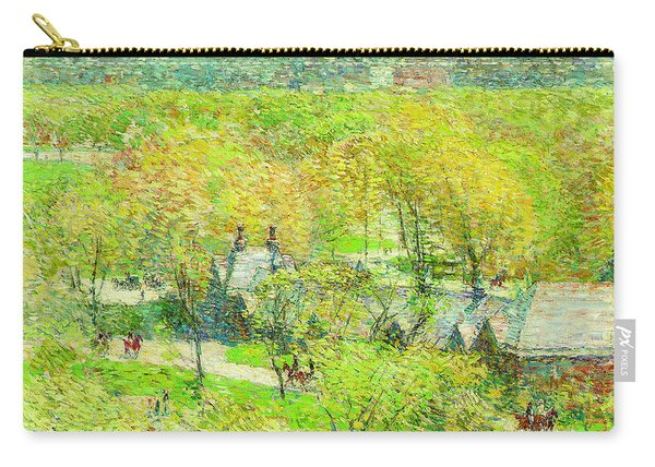 Across The Park Carry-all Pouch