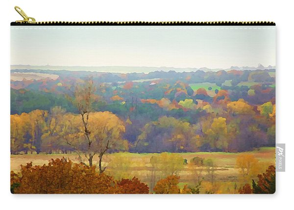 Across The River In Autumn Carry-all Pouch