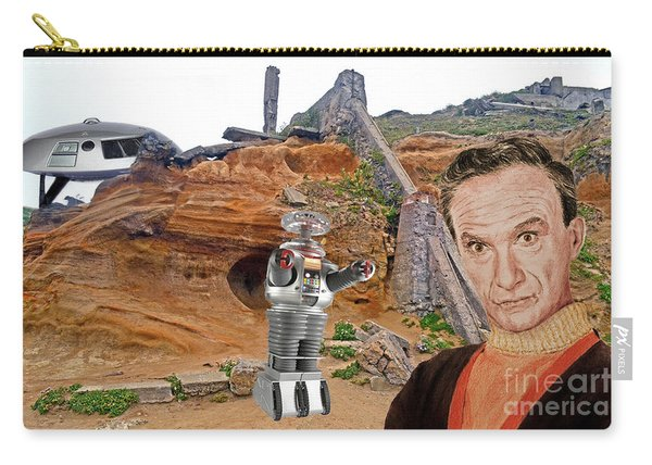 Actor Jonathan Harris As Dr Smith From Lost In Space II Carry-all Pouch