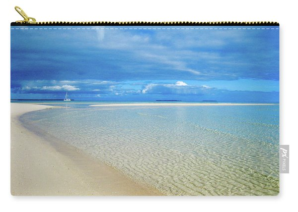 Adagio Alone In Ouvea, South Pacific Carry-all Pouch