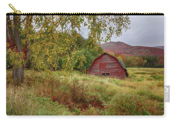 Adirondack Barn In Autumn Carry-all Pouch