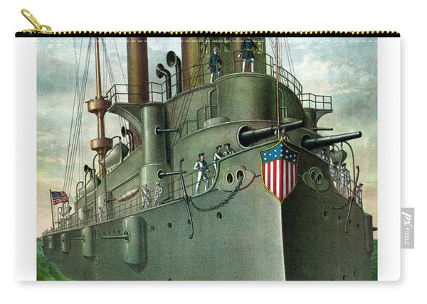 Admiral Dewey's Flagship Olympia  Carry-all Pouch