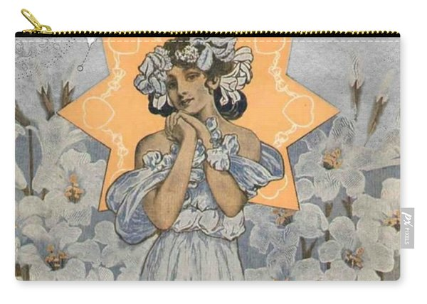Adoration Art Deco Carry-all Pouch