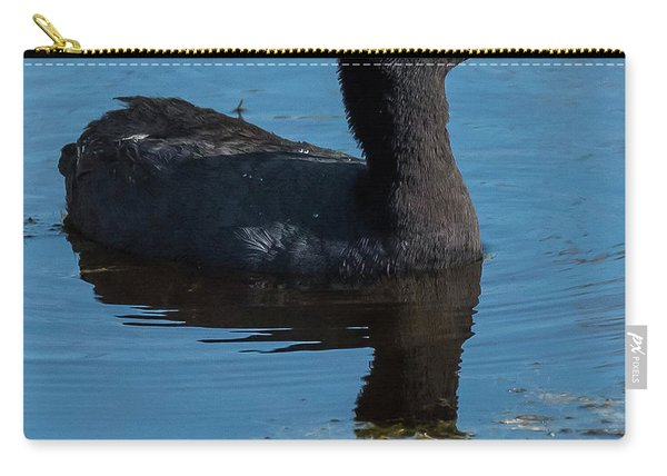 Adult American Coot Carry-all Pouch