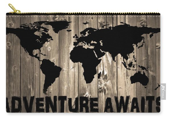 Adventure Awaits Graphic Barn Door Carry-all Pouch
