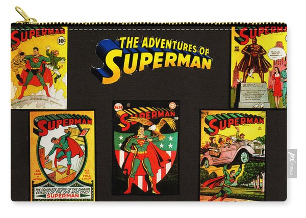 Adventures Of Superman Carry-all Pouch