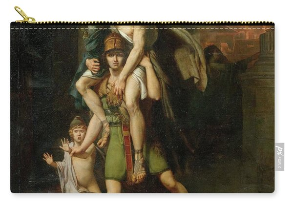 Aeneas Fleeing With His Father Carry-all Pouch