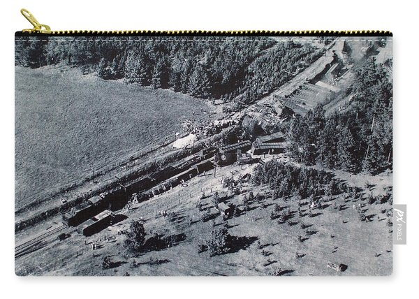 Aerial Train Wreck Carry-all Pouch
