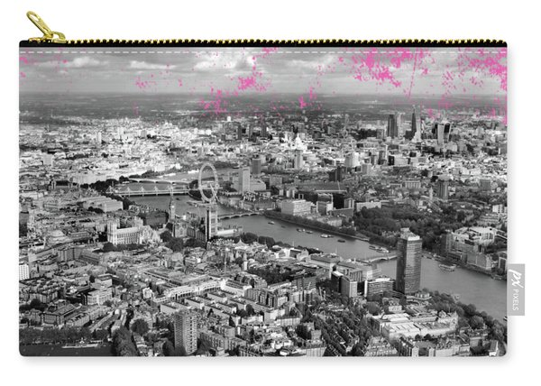 Aerial View Of London Carry-all Pouch