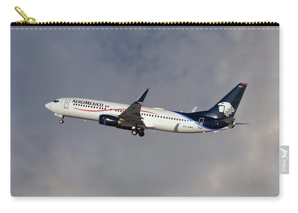 Aeromexico Boeing 737-81d Carry-all Pouch