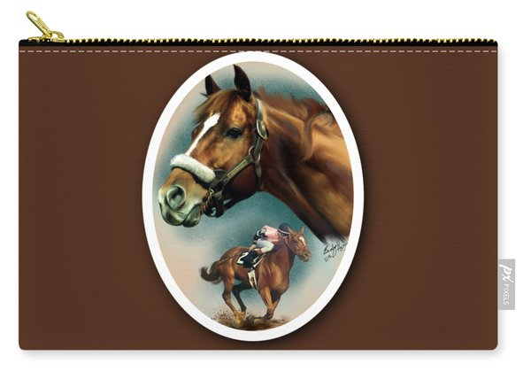 Affirmed With Name Decor Carry-all Pouch