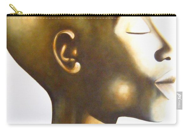 African Elegance Sepia - Original Artwork Carry-all Pouch