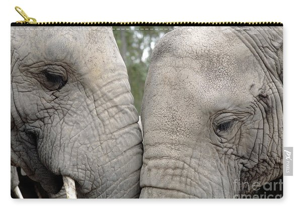African Elephants Carry-all Pouch