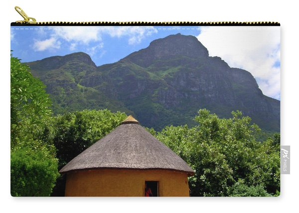 African Hut South Africa Carry-all Pouch