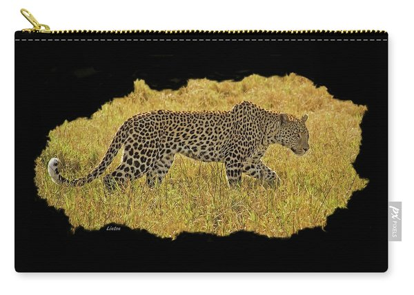 African Leopard 7 Carry-all Pouch