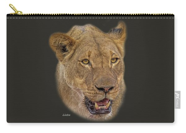 African Lioness Tee Carry-all Pouch