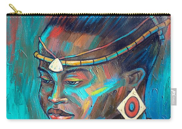 African Princess Carry-all Pouch