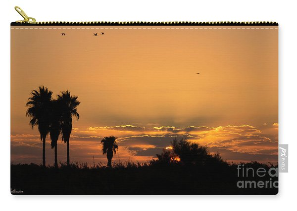 African Style Sunset 02 Carry-all Pouch