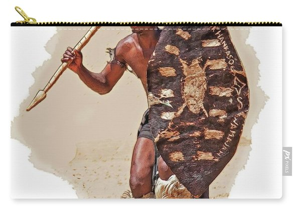 African Tribal Traditions 1 Carry-all Pouch