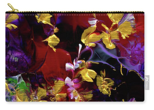 African Violet Awake #3 Carry-all Pouch